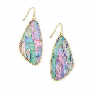 Kendra Scott Margot Lilac Abalone Earrings